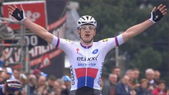 Petr Vakoc, ciclista checo de 23 años con mucho futuro