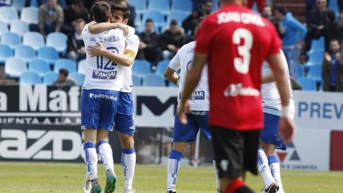 El Real Zaragoza sigue en puestos de playoffs
