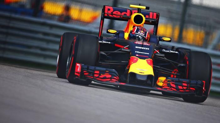 Red Bull en el GP de Rusia