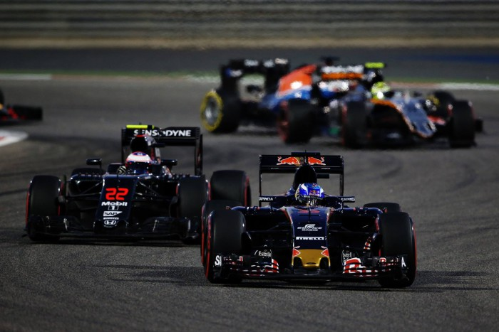 Toro Rosso en Bahrein