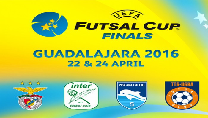 El Inter Movistar buscará su cuarto título de la UEFA Futsal Cup