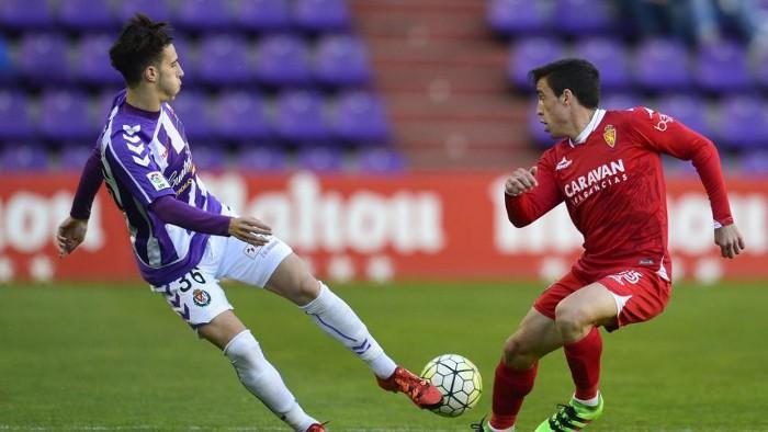 El Zaragoza consiguió una importante victoria en Valladolid