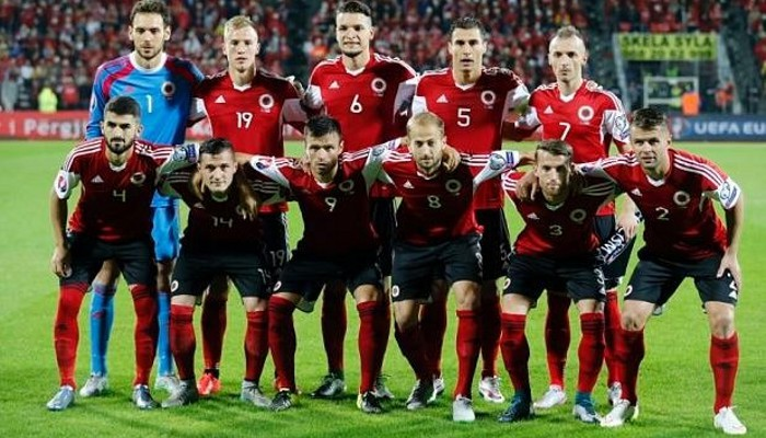Albania se estrena en una Eurocopa