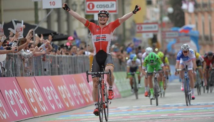 Greipel se impuso en la quinta etapa del Giro de Italia 2016