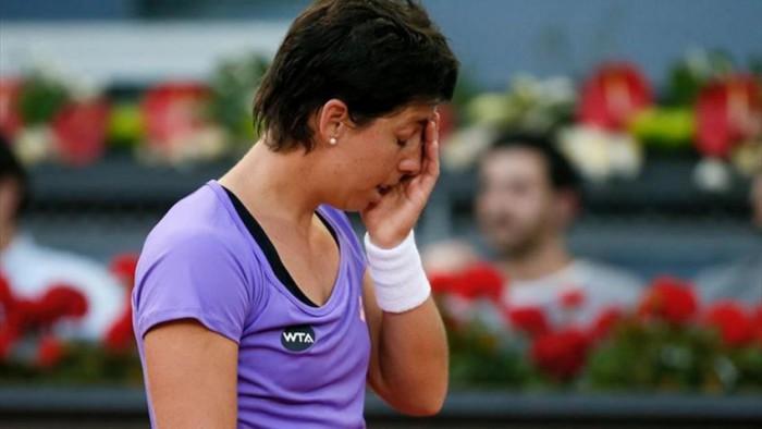 Carla Suarez Navarro eliminada en Madrid
