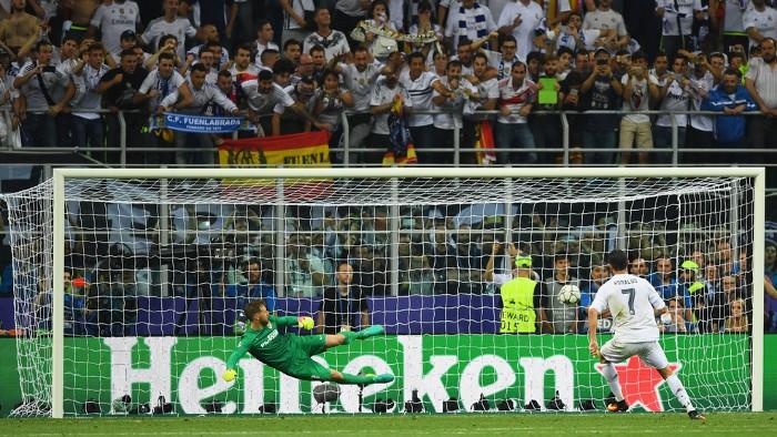 Cristiano Ronaldo marcó el penalty decisivo