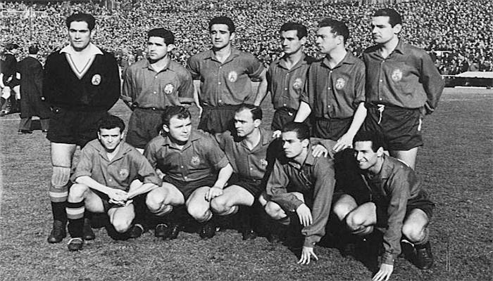 España contaba con un equipo de lujo para la Eurocopa de 1960