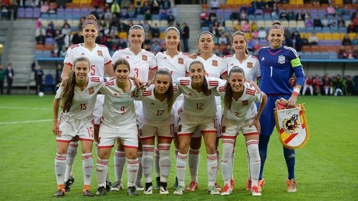 El equipo titular de la selección española sub 17