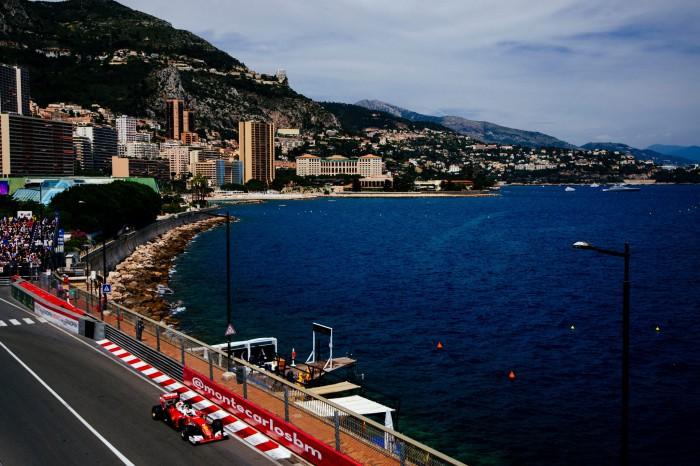 Ferrari F1 en Monaco