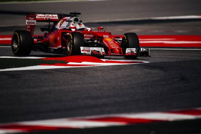 Ferrari en el GP de España