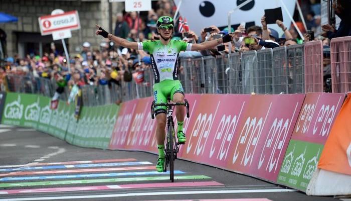 Ciccone ganó la décima etapa del Giro a sus 21 años