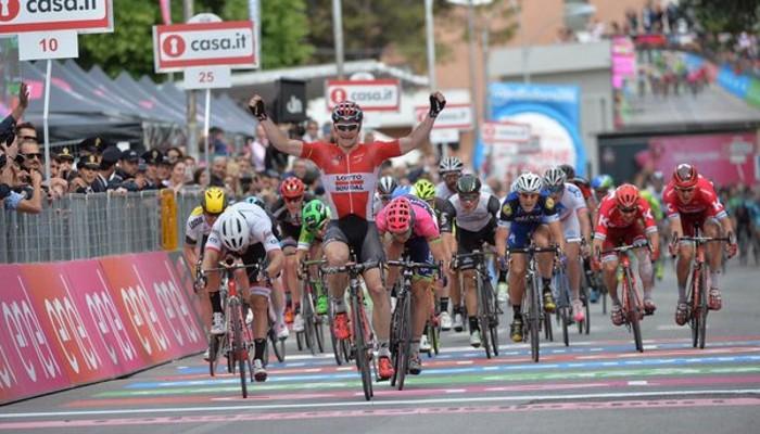 Andre Greipel ya lleva dos victorias en el Giro