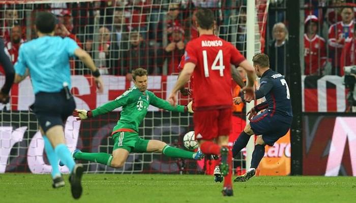 El gol de Griezmann dio el pase al Atlético a la final