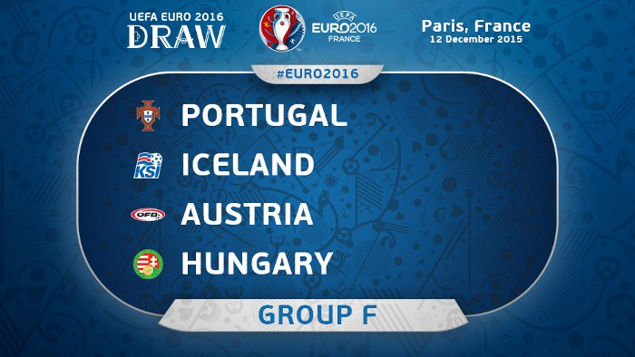 Portugal, Islandia, Austria y Hungría se miden en el Grupo F