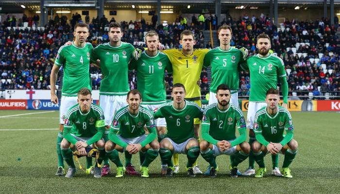 Irlanda del Norte es otra de las selecciones que se estrena