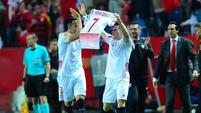 Los goles de Gameiro meten al Sevilla en una nueva final de Europa League