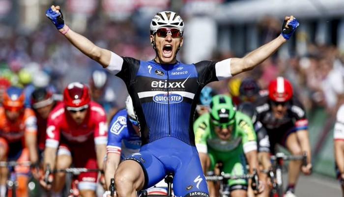 Kittel ganó la primera etapa en línea del Giro 2016