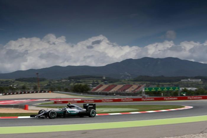 Mercedes en el GP de España
