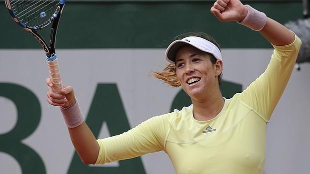 Muguruza a segunda ronda en Roland Garros