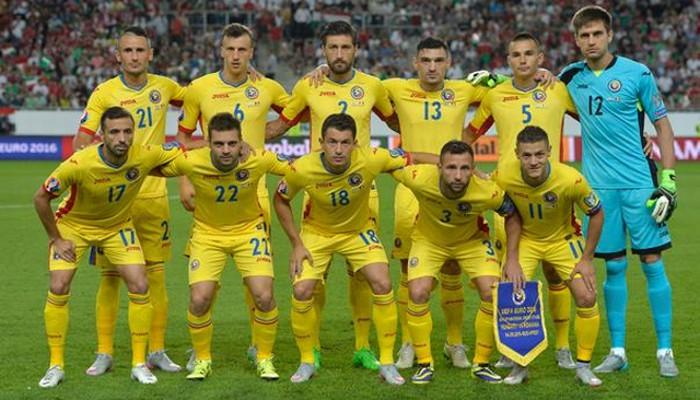La selección de Rumanía espera hacer un buen papel en la Eurocopa