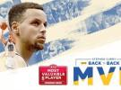 NBA: Stephen Curry repite como MVP tras una temporada de récord