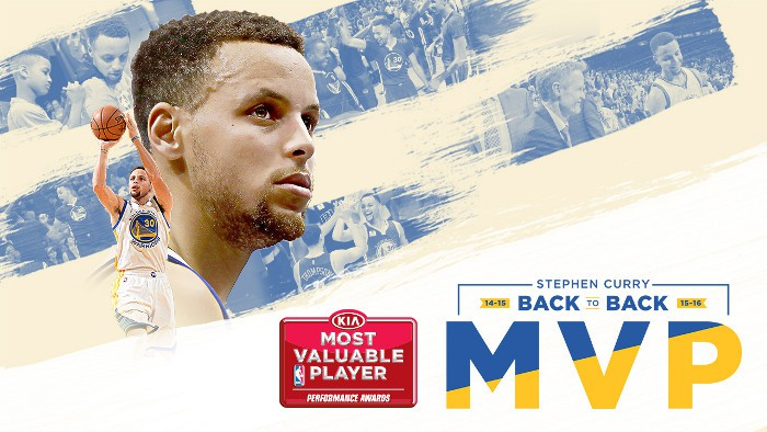 Curry repite como MVP de la NBA