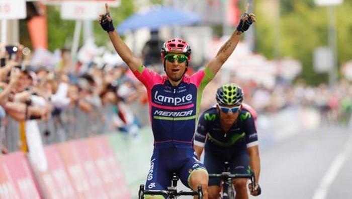 Ulissi ya lleva dos victorias de etapa en este Giro 2016