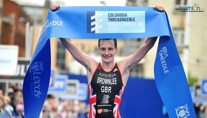 Alistair Brownlee se impuso en el triatlón de Leeds