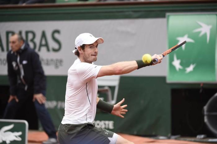 Andy Murray en Roland Garros