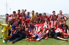 El Atlético de Madrid gana la Copa del Rey juvenil de 2016 ante el Real Madrid