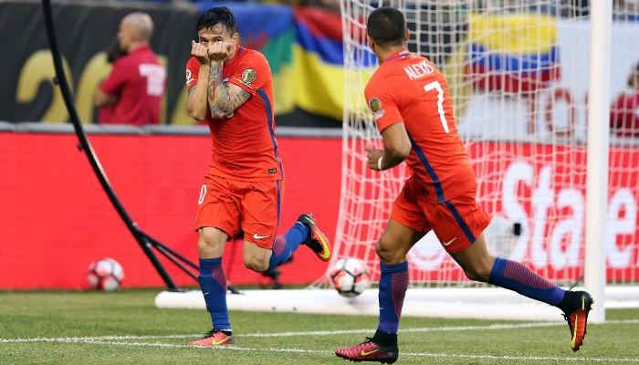 Chile repite también en la final de la Copa América