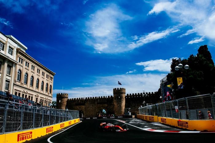 Ferrari en Baku