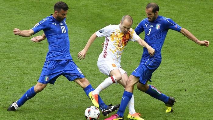 Italia superó claramente a España