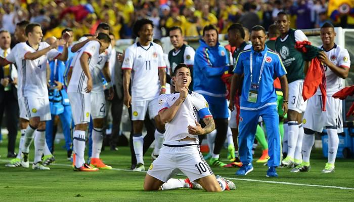 James lidera a Colombia pese a estar tocado físicamente