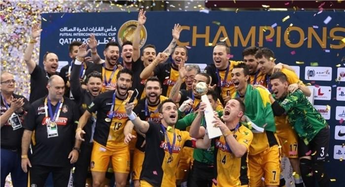 Magnus Futsal ganó la Copa Intercontinental de fútbol sala de 2016
