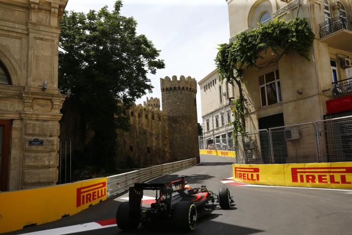McLaren-Honda en Baku