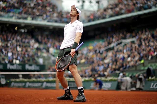 Murray a semifinales en Roland Garros