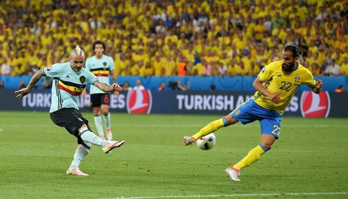 Un gol de Nainggolan fue la sentencia de Suecia