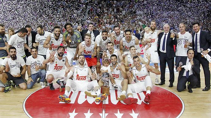Real Madrid - Campeon de la ACB