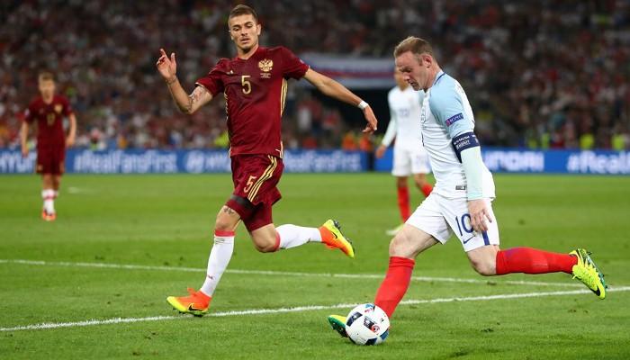 Rusia e Inglaterra firmaron el primer empate en la Euro