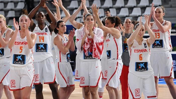 El baloncesto femenino español consigue plaza para Río 2016