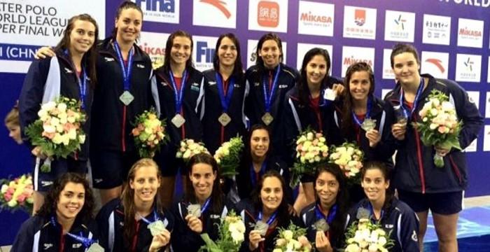 El waterpolo femenino es una de las opciones de medalla para España