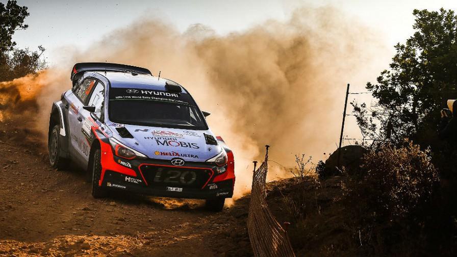 Rally de Italia-Cerdeña 2016: victoria para Thierry Neuville con Hyundai, Dani Sordo 4º
