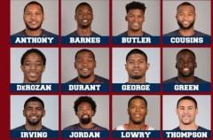 La selección de baloncesto de Estados Unidos para los Juegos de Río 2016