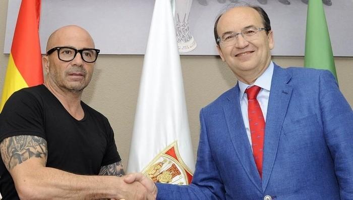 Sampaoli es el nuevo entrenador del Sevilla