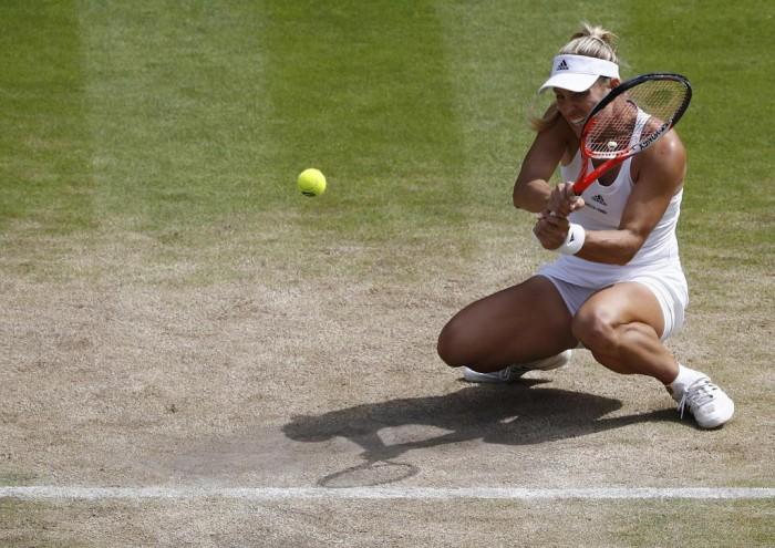 Kerber a la final de Wimbledon