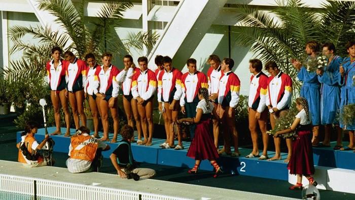 España Barcelona Olimpiadas Waterpolo
