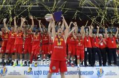 El U20 masculino también gana el Europeo de baloncesto de 2016