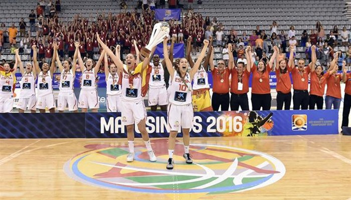 España U20 femenina, campeona de Europa de 2016