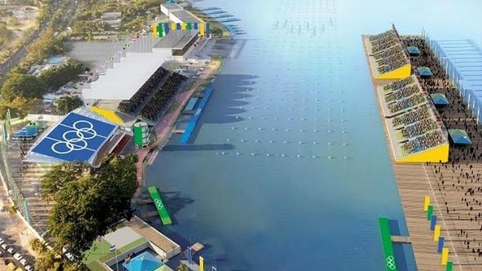 El Estadio da Lagoa acogerá las pruebas de piragüismo y remo